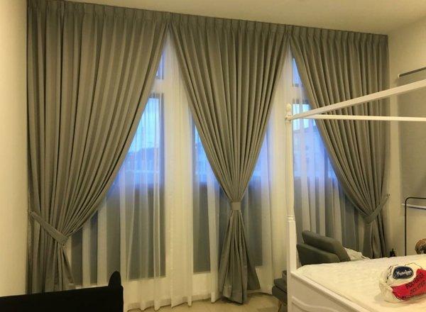 Reenex Curtain Design Day & Night Curtain H11