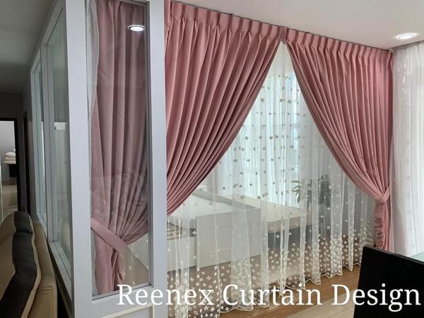 Reenex Curtain Design Day & Night Curtain H6