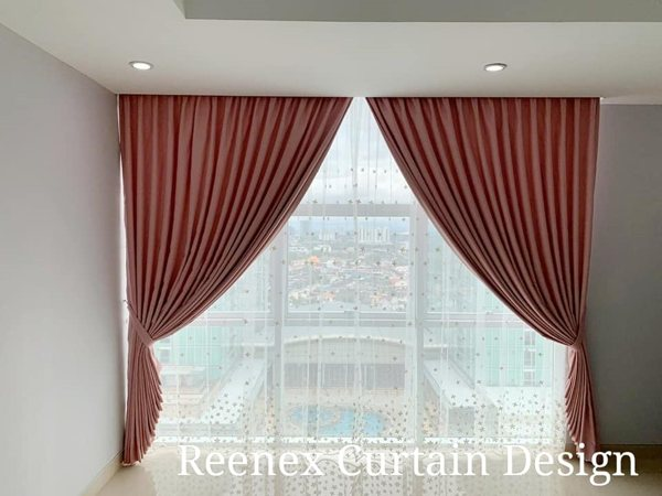 Reenex Curtain Design Day & Night Curtain H7