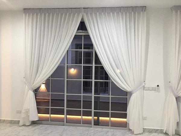 Reenex Curtain Design Day & Night Curtain H8