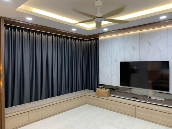 Reenex Curtain Design Day & Night Curtain H9