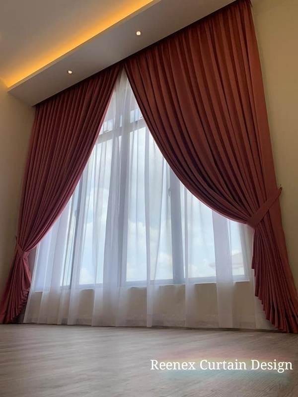 Reenex Curtain Design Day & Night Curtain V4