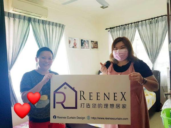 Reenex Curtain Design Happy Customer 1