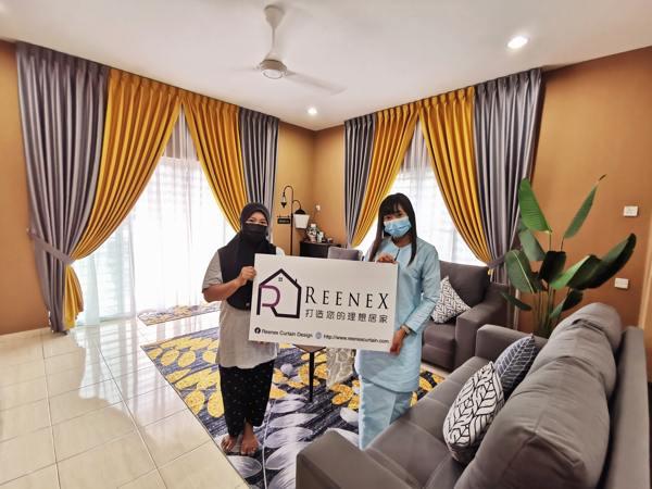Reenex Curtain Design Happy Customer 6