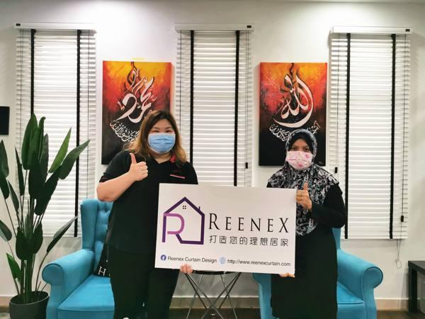 Reenex Curtain Design Happy Customer 8