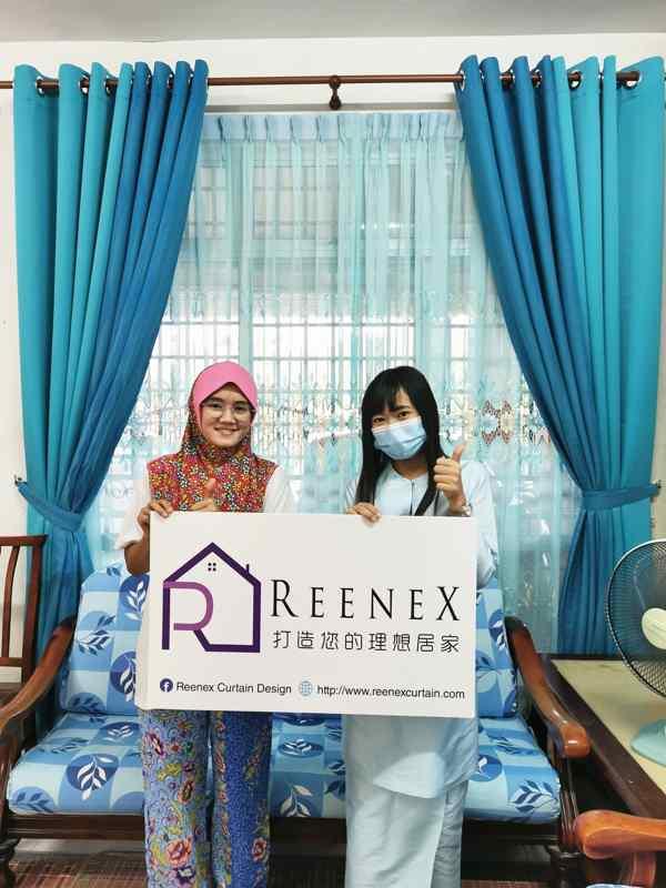 Reenex Curtain Design JB Happy Customer 1