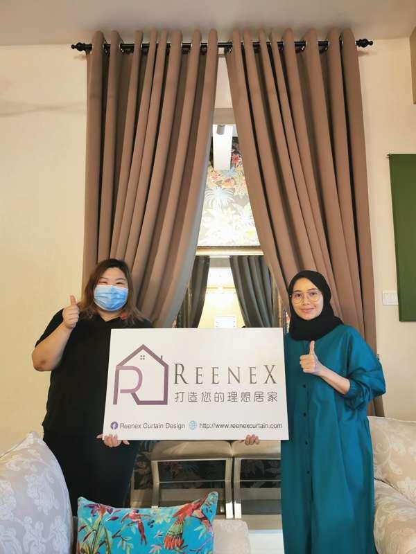 Reenex Curtain Design JB Happy Customer 2