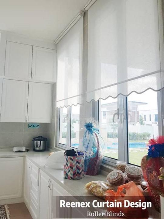 Reenex Curtain Design Roller Blinds V1