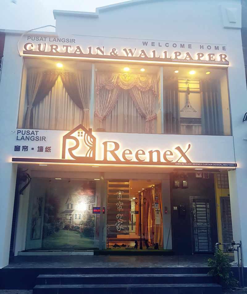Reenex Curtain Design Shop JB