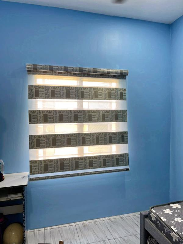 Reenex Curtain Design Zebra Blinds V11